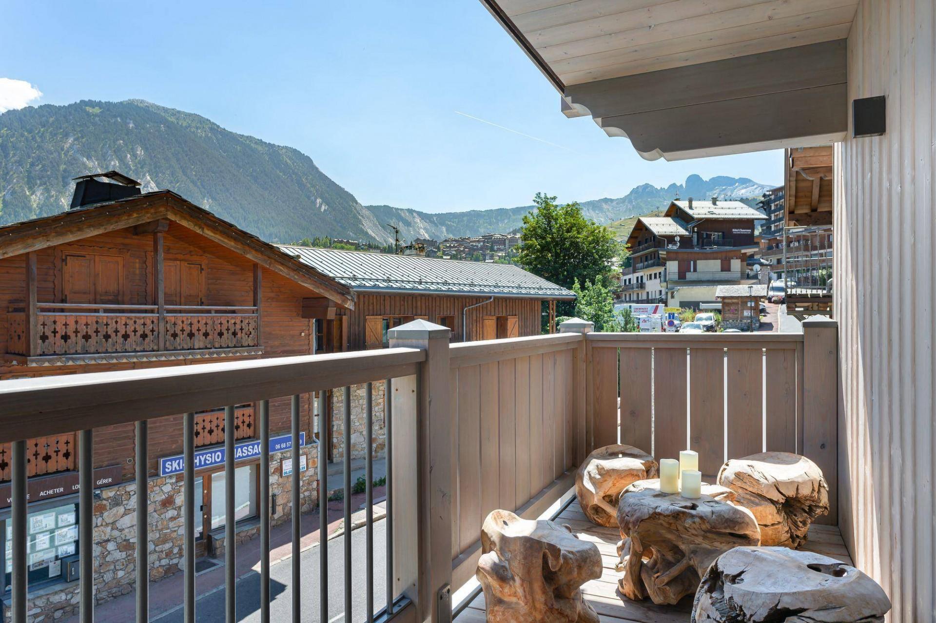 Courchevel 1550 Location Appartement Luxe Telimite Balcon 4