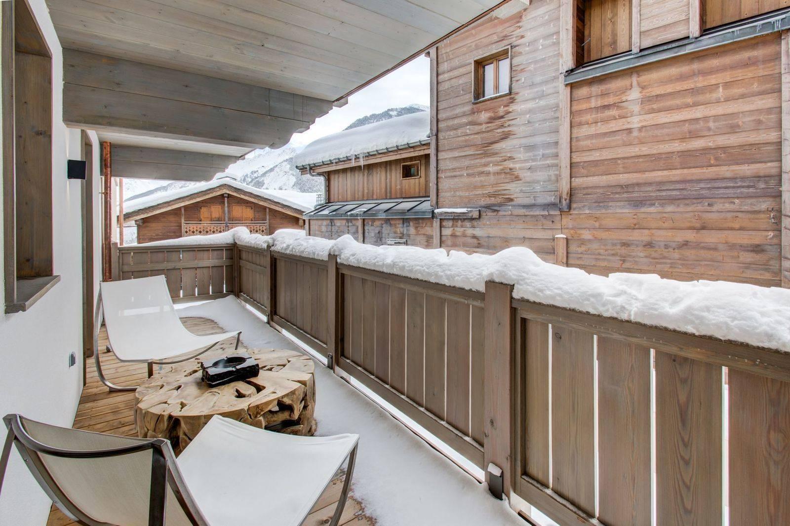 Courchevel 1550 Location Appartement Luxe Telimite Balcon 5
