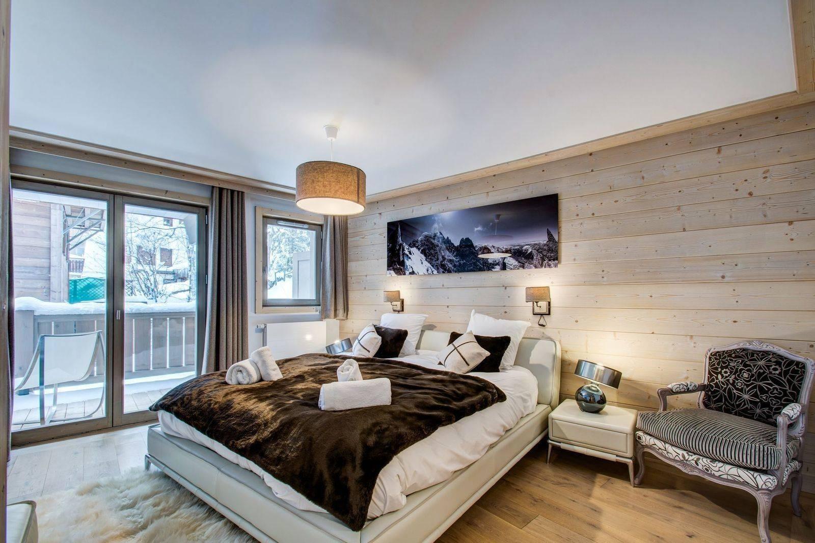 Courchevel 1550 Location Appartement Luxe Telimite Chambre