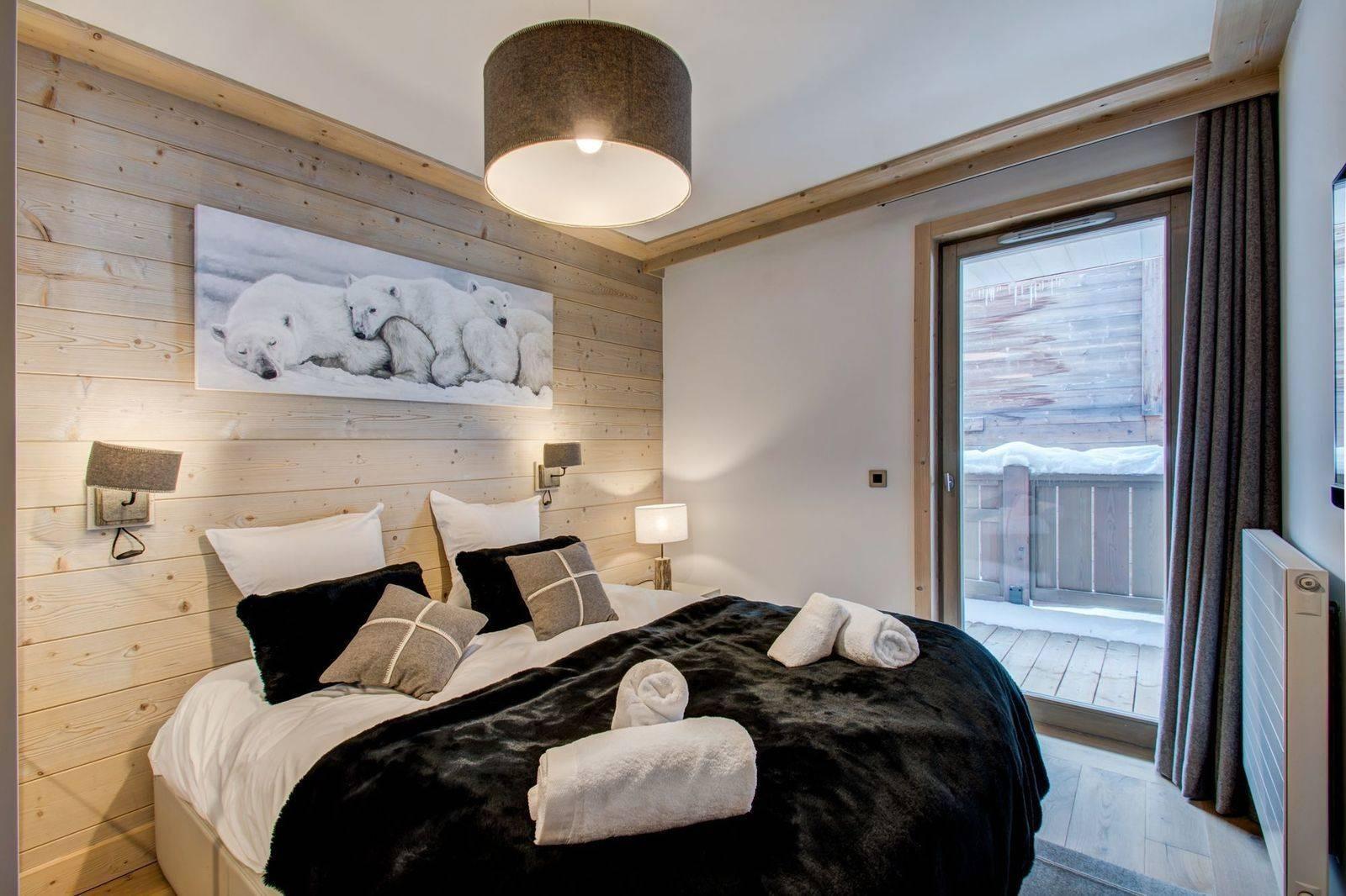 Courchevel 1550 Location Appartement Luxe Telimite Chambre 3