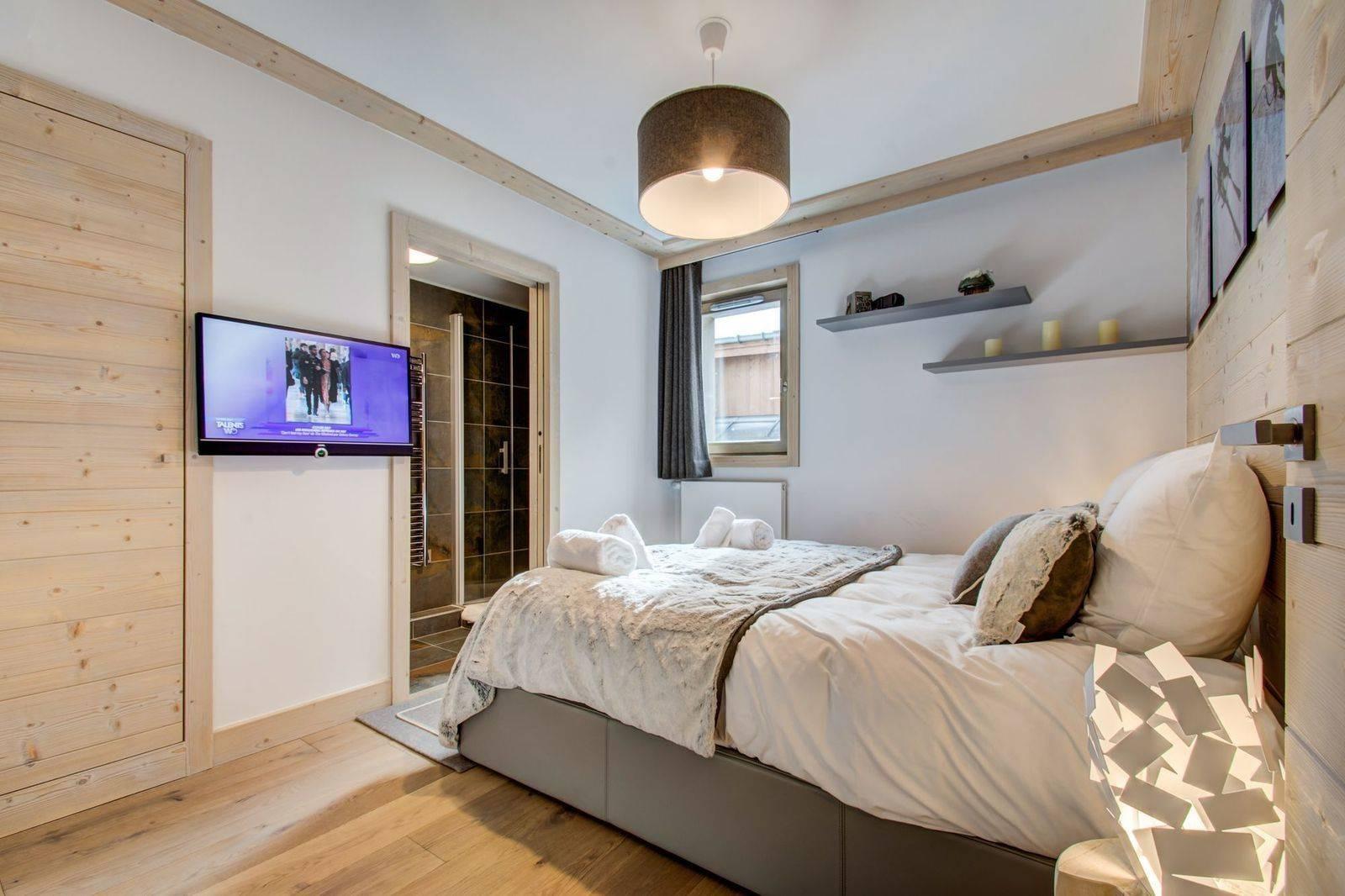 Courchevel 1550 Location Appartement Luxe Telimite Chambre 4
