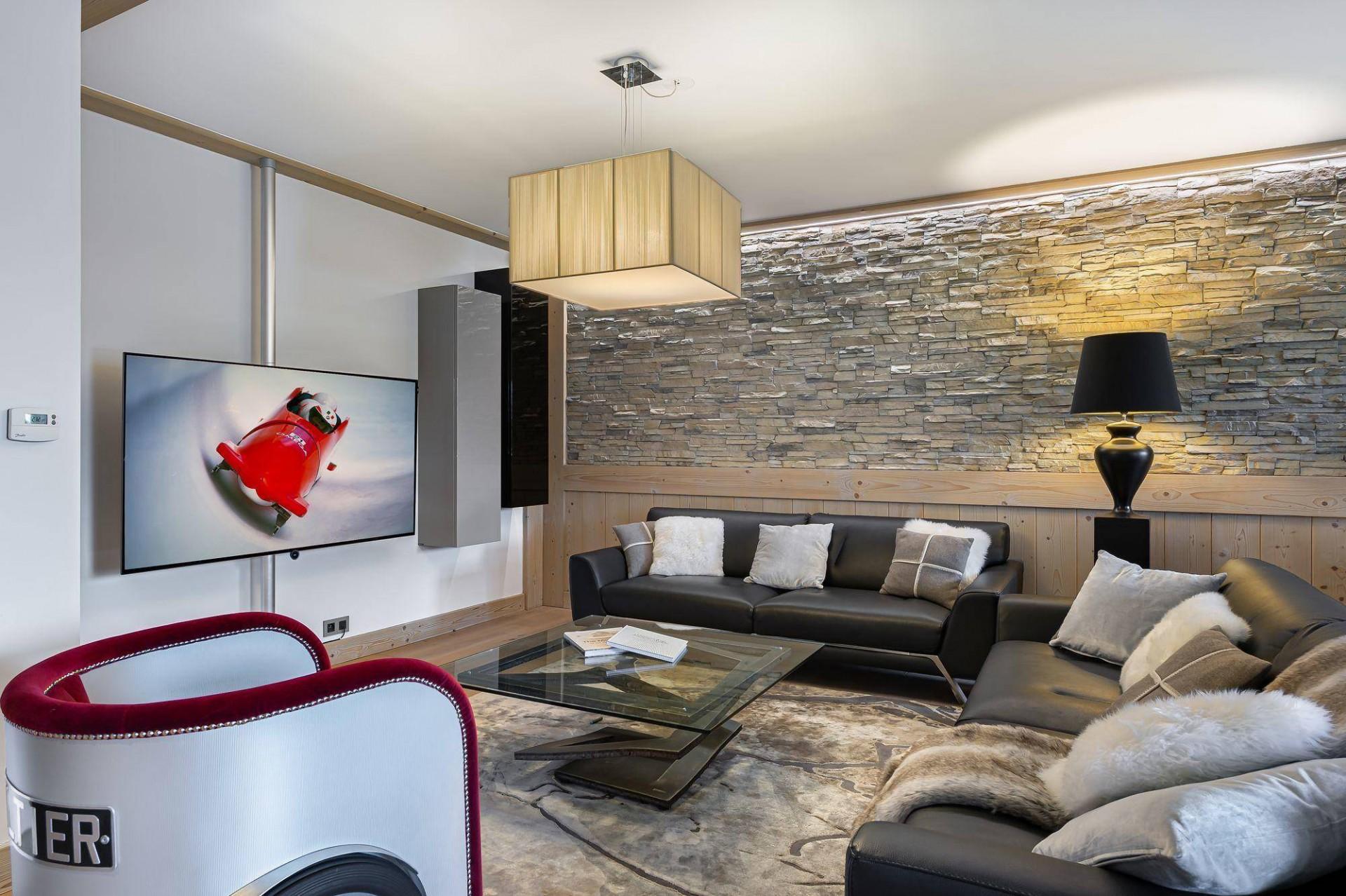 Courchevel 1550 Location Appartement Luxe Telimite Séjour 3