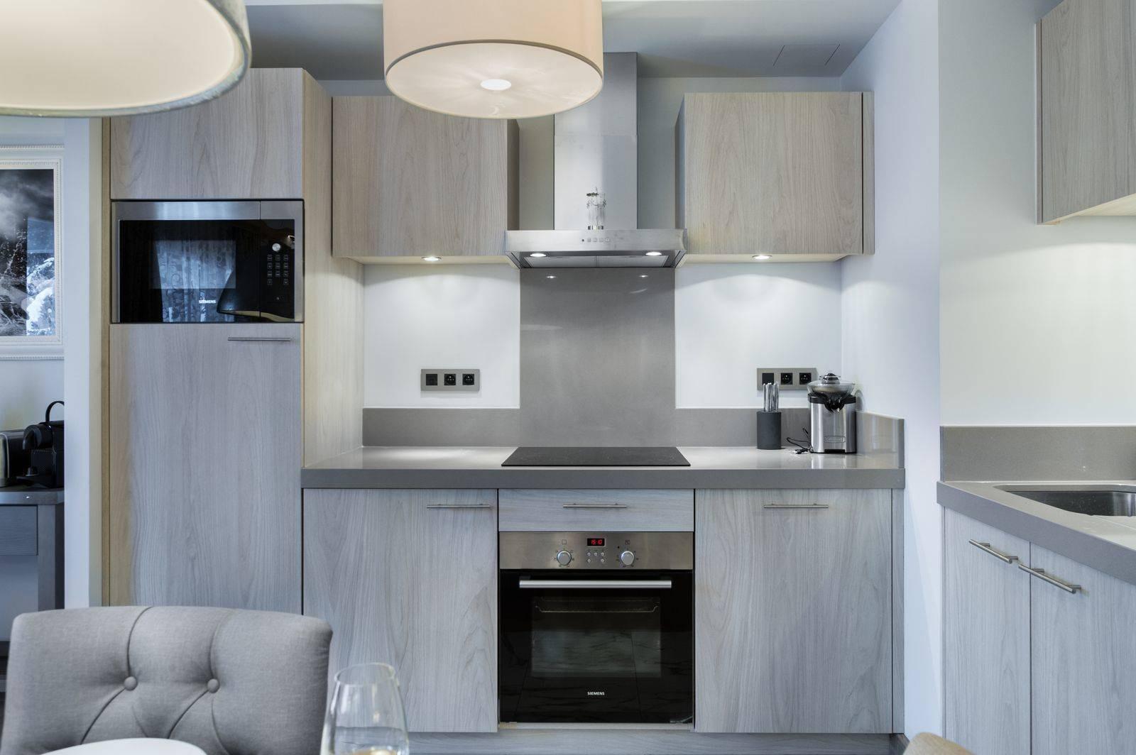 Courchevel 1550 Location Appartement Luxe Telokia Cuisine