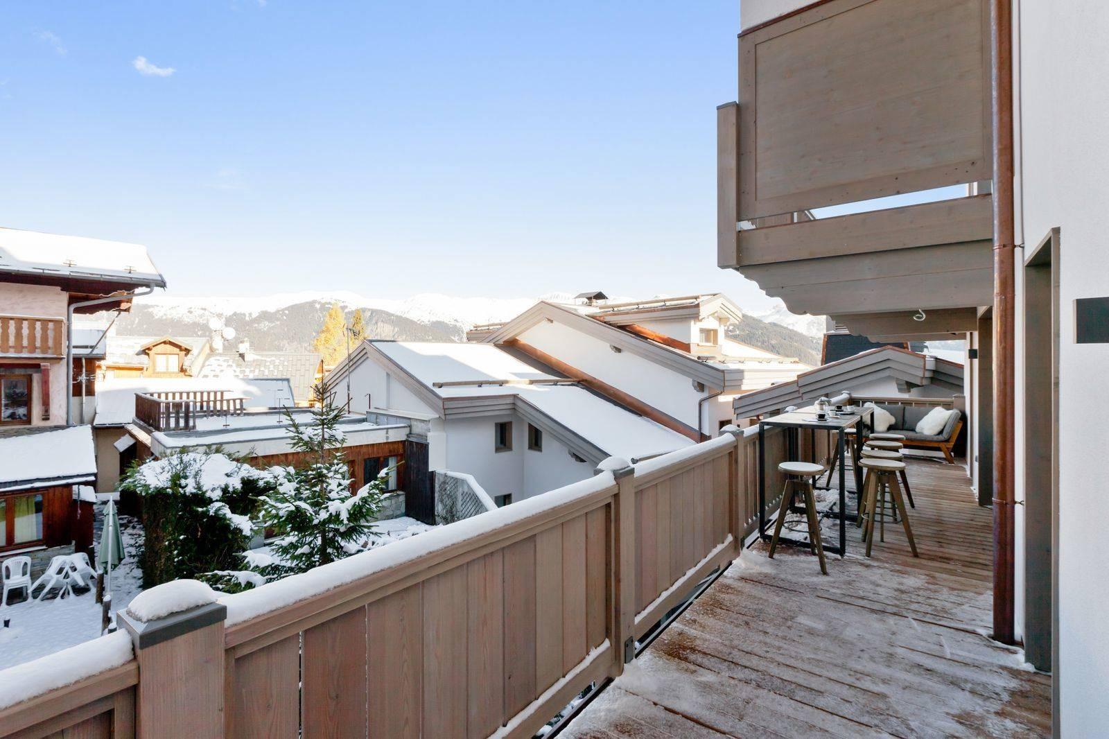Courchevel 1550 Location Appartement Luxe Telokia Terrasse