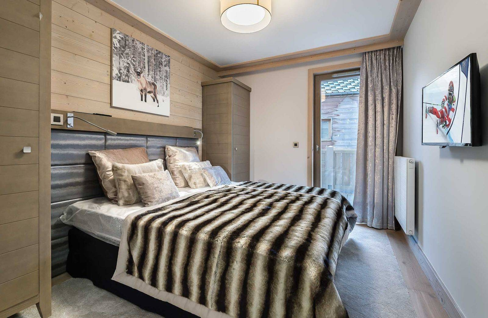 Courchevel 1550 Location Appartement Luxe Telumite Chambre 2