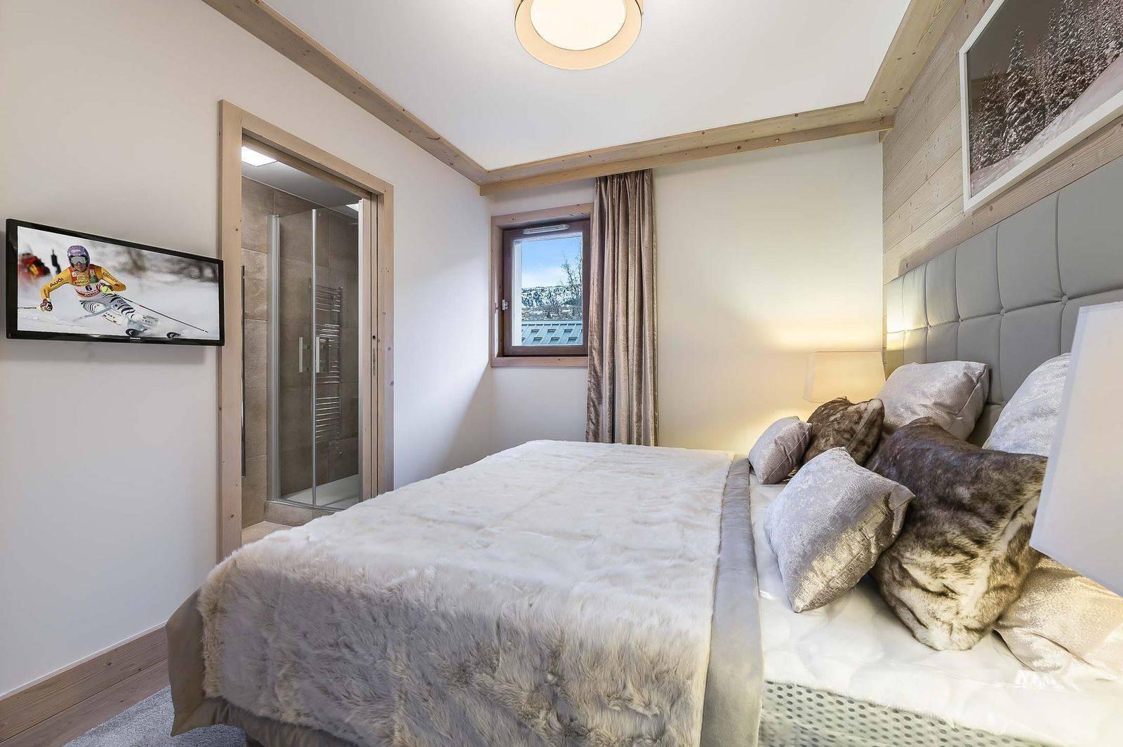Courchevel 1550 Location Appartement Luxe Telumite Chambre 3