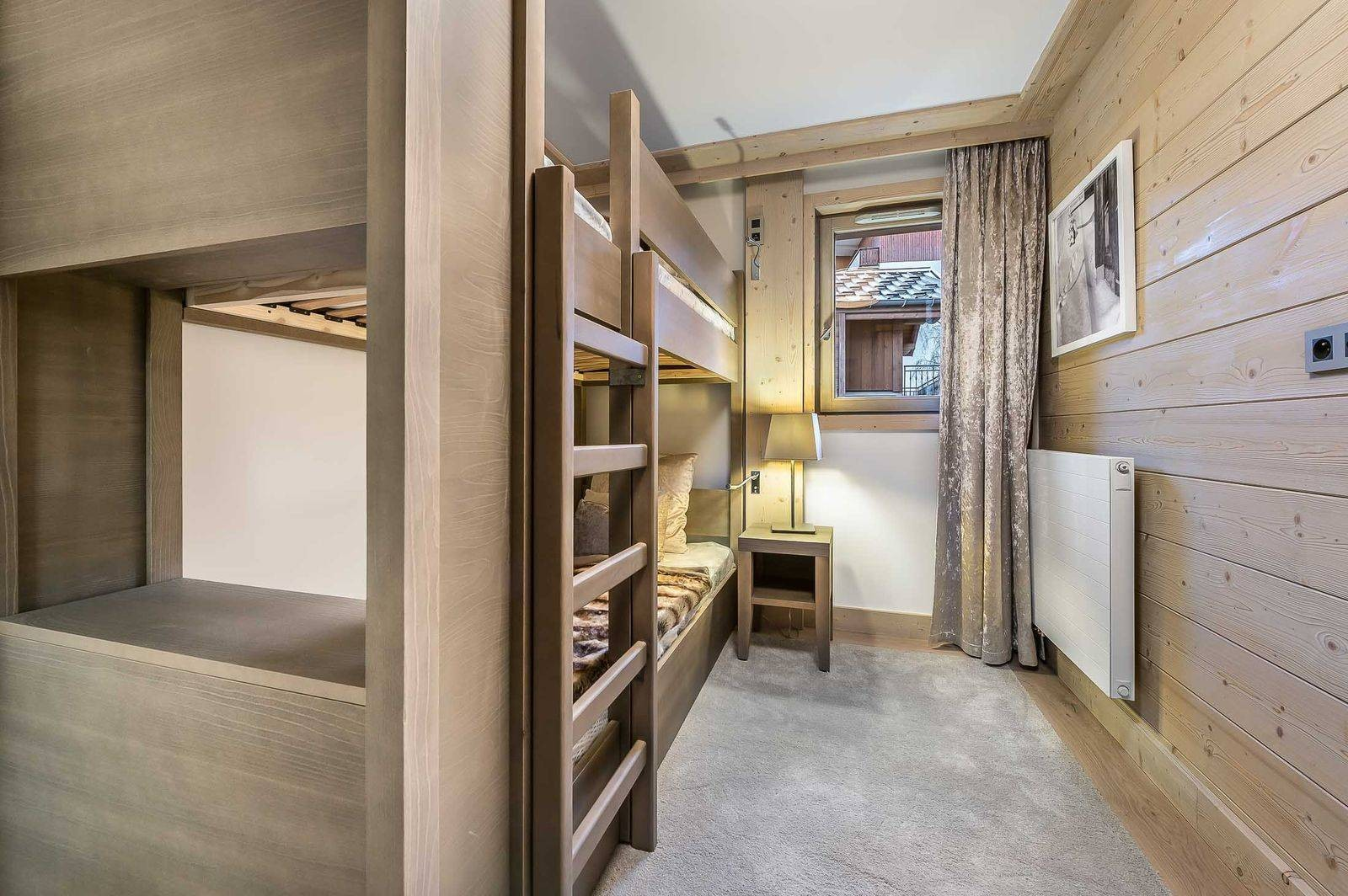 Courchevel 1550 Location Appartement Luxe Telumite Chambre 4