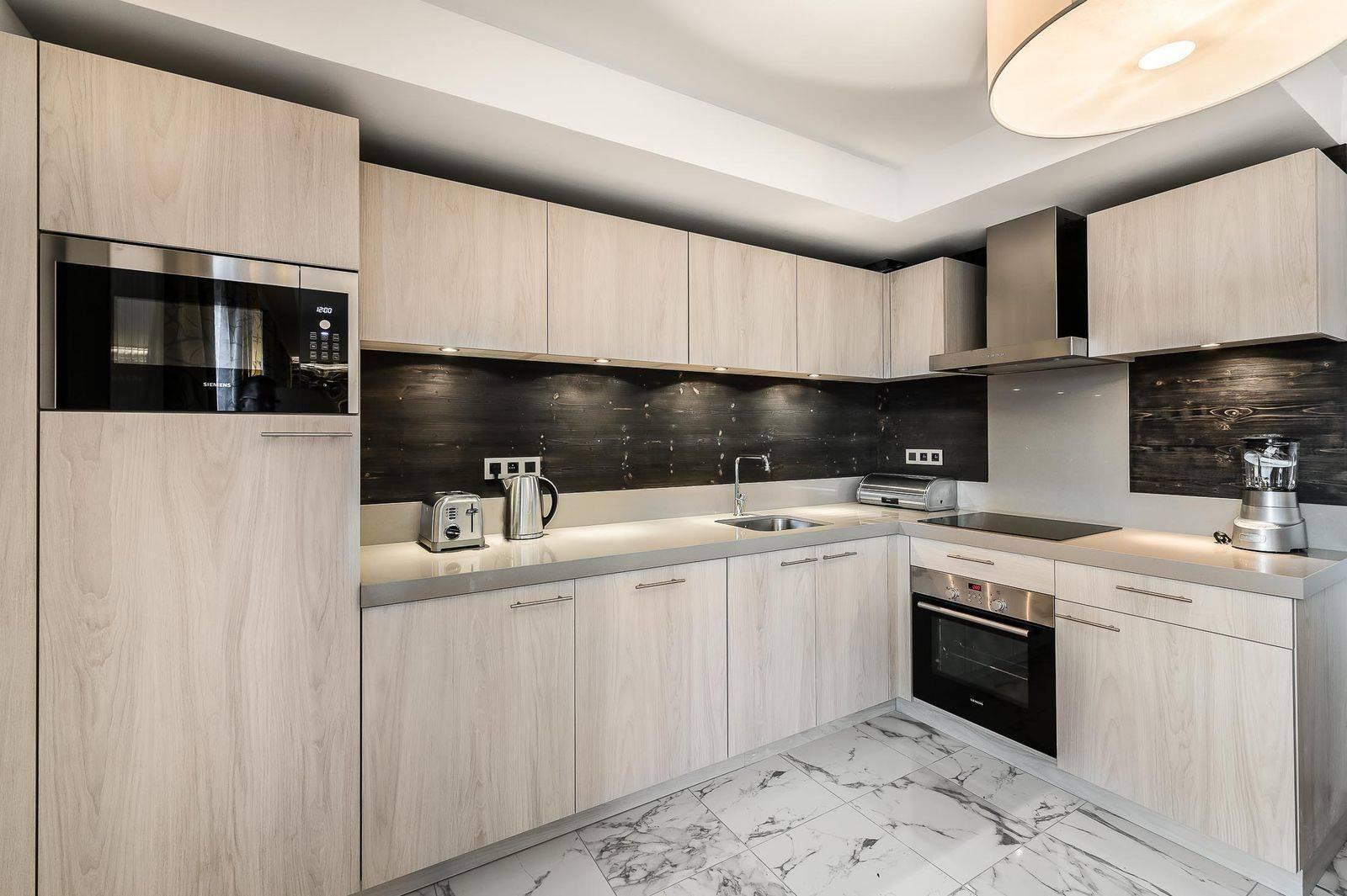 ourchevel 1550 Location Appartement Luxe Telumite Cuisine