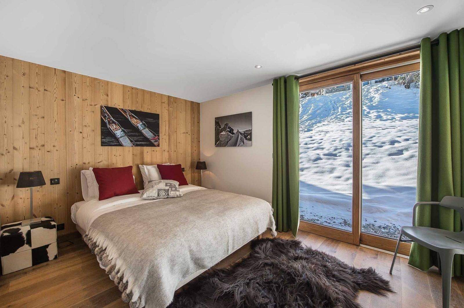 Courchevel 1550 Location Chalet Luxe Nibite Chambre