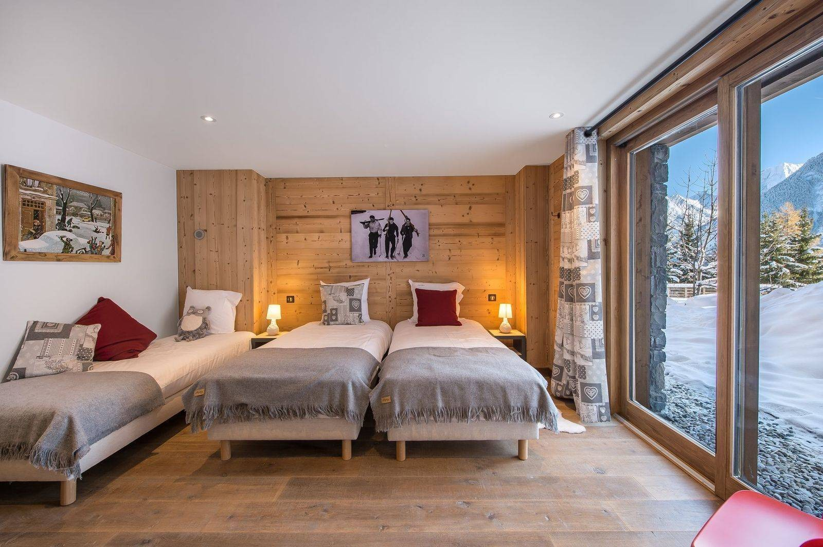 Courchevel 1550 Location Chalet Luxe Nibite Chambre 3