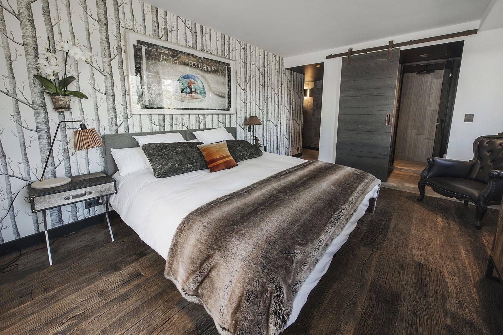 Courchevel 1550 Luxury Rental Chalet Niibite Bedroom 2