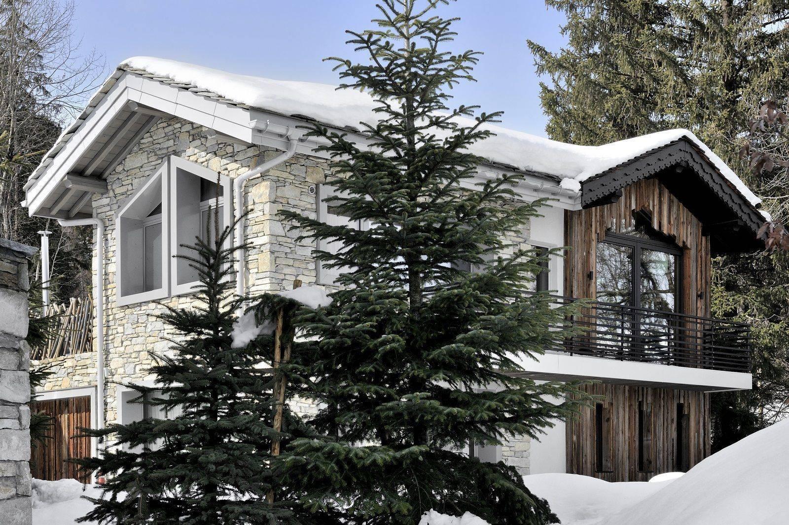 Courchevel 1550 Luxury Rental Chalet Niibite Exterior