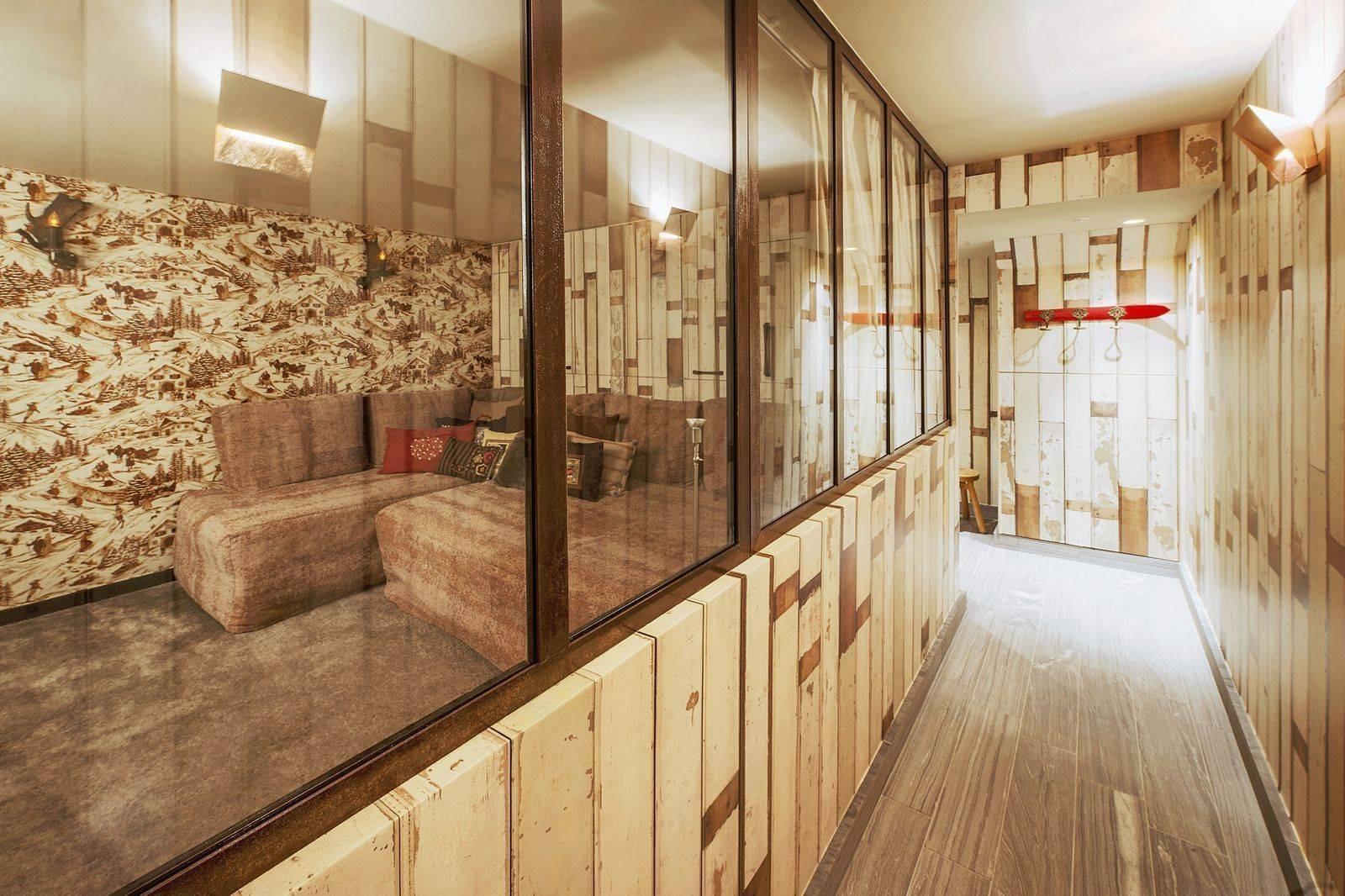 Courchevel 1550 Luxury Rental Chalet Niibite Living Room 2