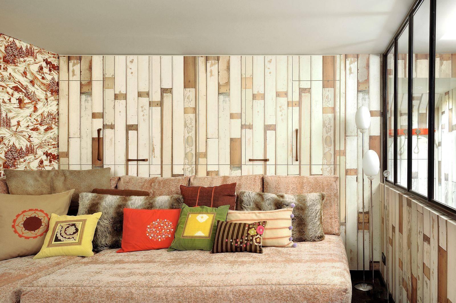 Courchevel 1550 Luxury Rental Chalet Niibite Living Room 3