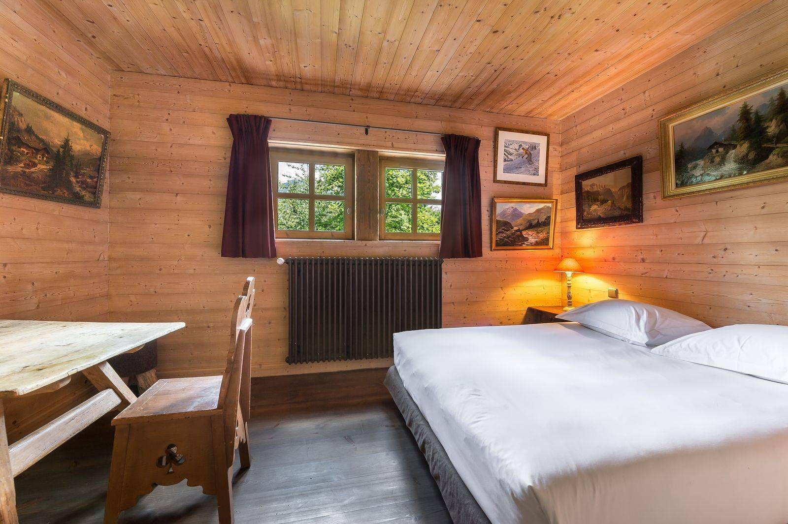 Courchevel 1550 Location Chalet Luxe Tazoy Chambre 4