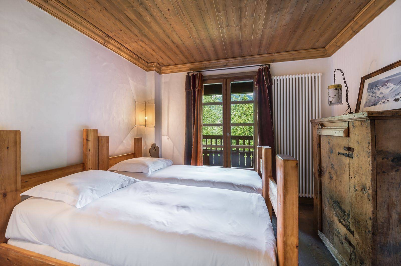 Courchevel 1550 Location Chalet Luxe Tazoy Chambre 5