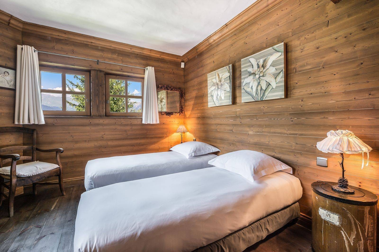 Courchevel 1550 Location Chalet Luxe Tazoy Chambre 6
