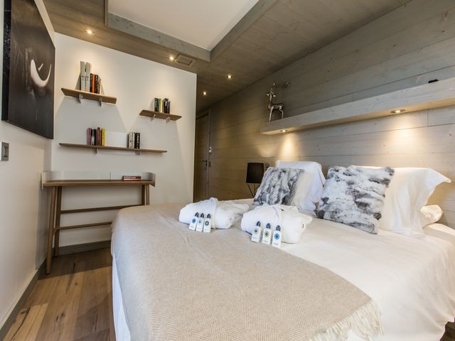 Courchevel 1650 Luxury Rental Appartment Agrelite Bedroom 2