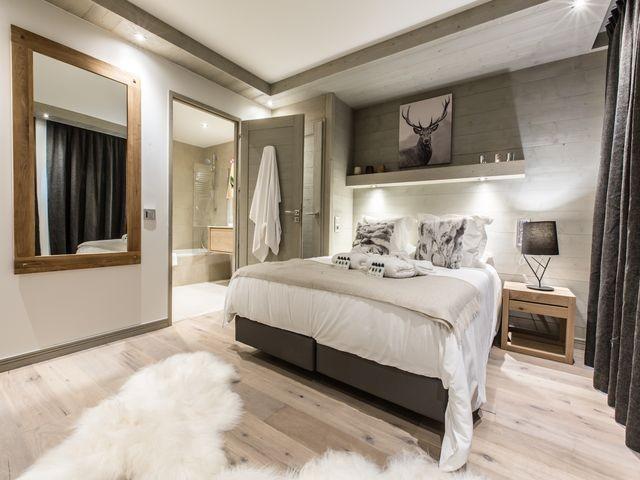 Courchevel 1650 Luxury Rental Appartment Agrelite Bedroom 4