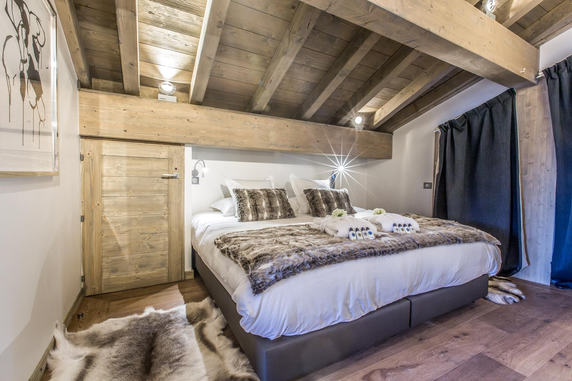 Courchevel 1650 Location Appartement Luxe Akorlonte Chambre