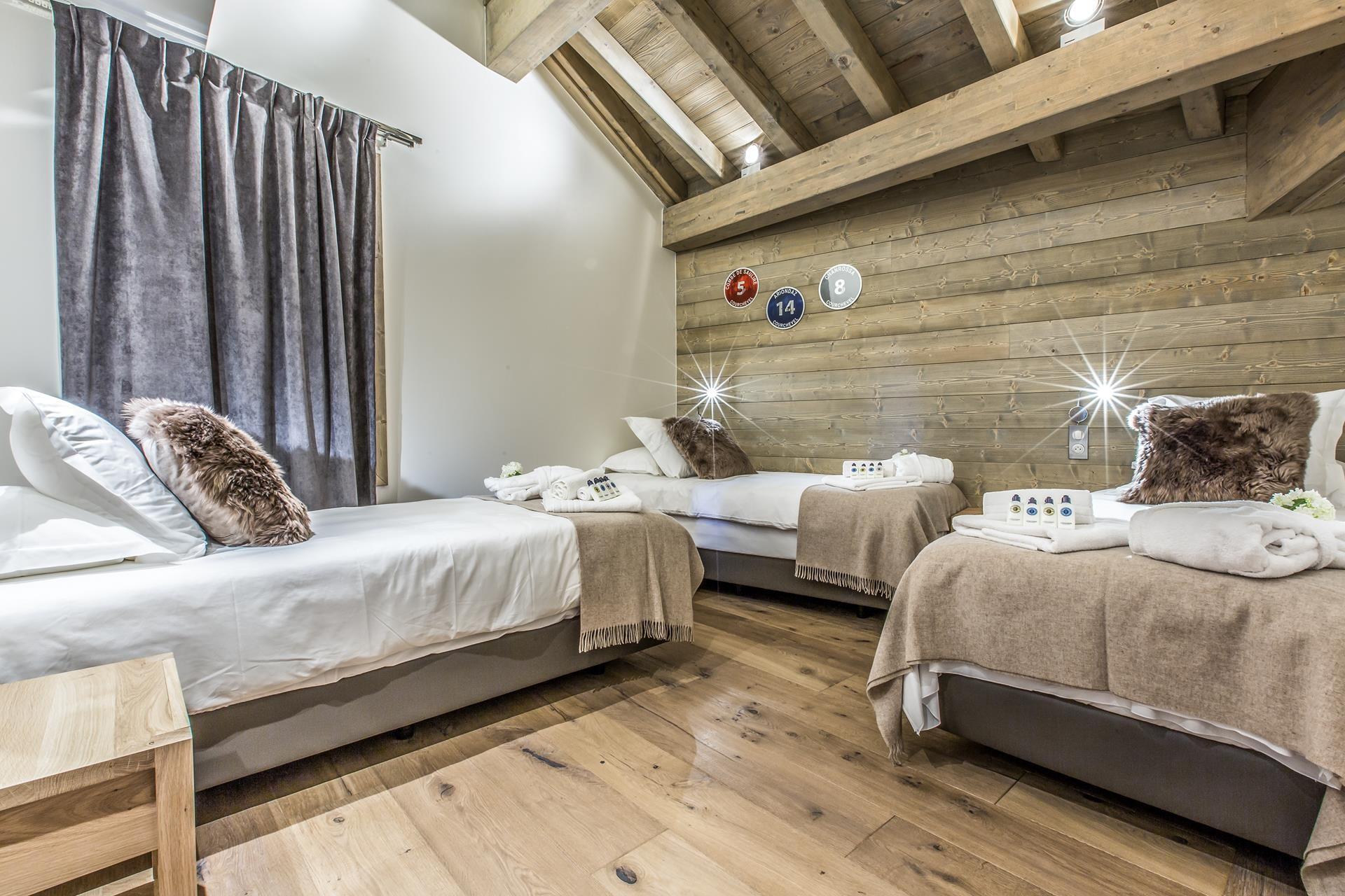 Courchevel 1650 Location Appartement Luxe Akorlonte Chambre 3