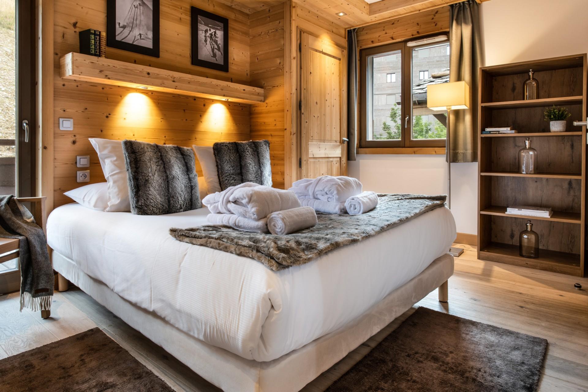 Courchevel 1650 Location Appartement Luxe Allanite Chambre