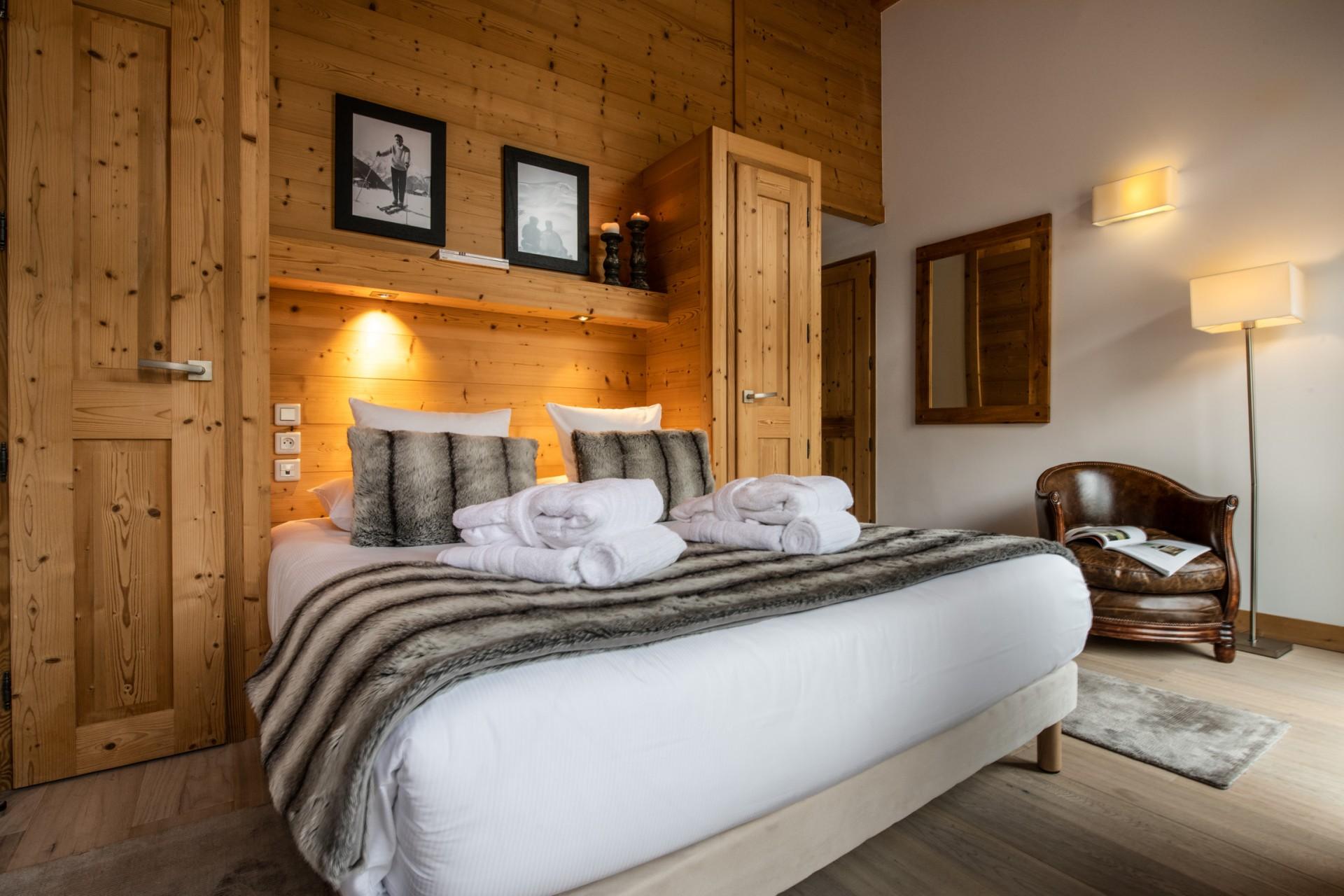 Courchevel 1650 Location Appartement Luxe Allanite Chambre 4