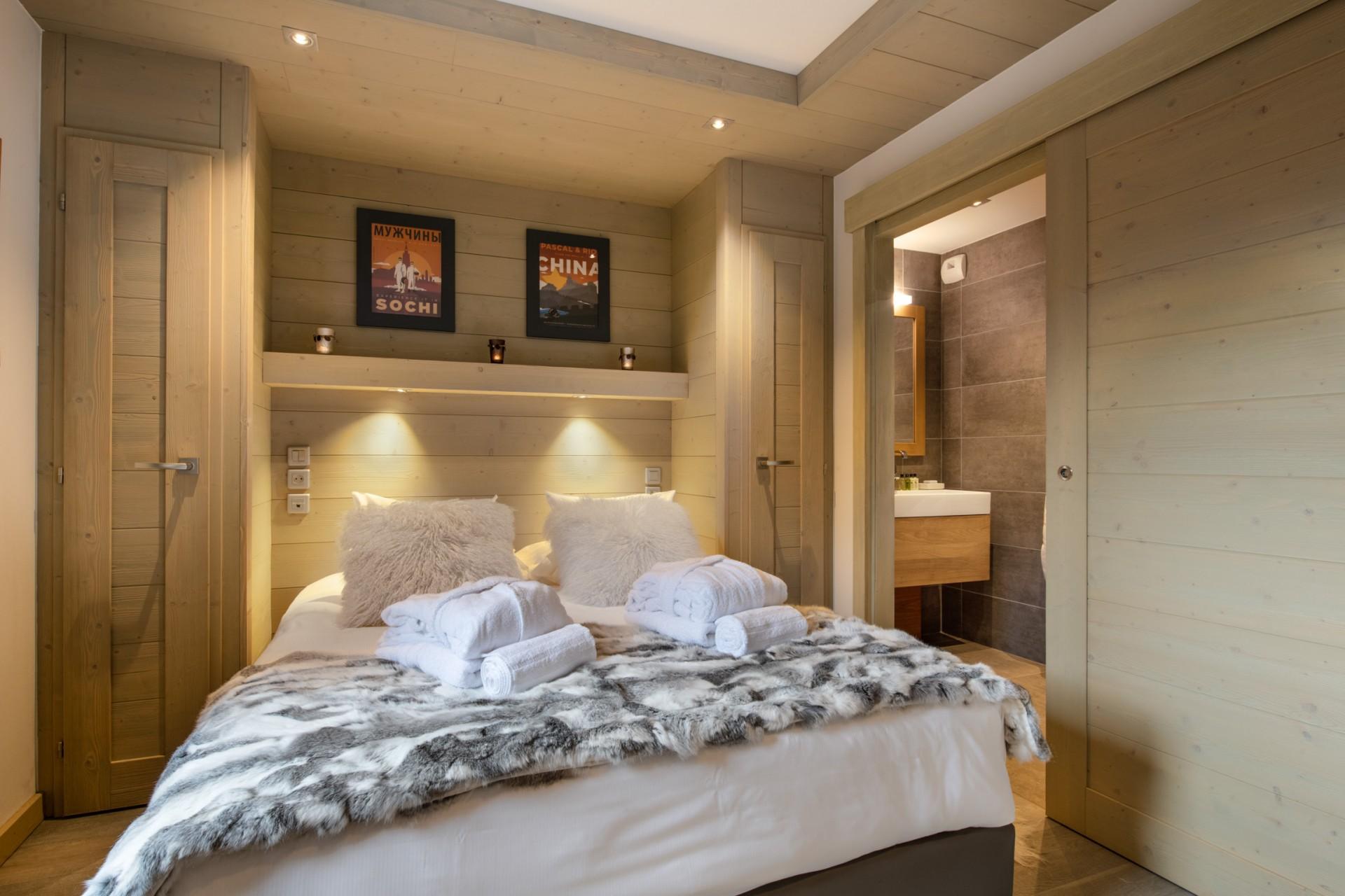 Courchevel 1650 Location Appartement Luxe Alsolite Chambre 2