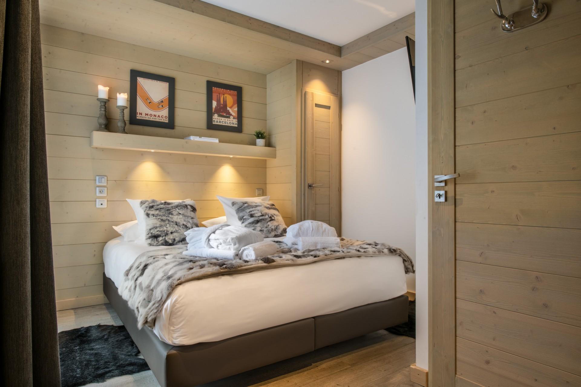Courchevel 1650 Location Appartement Luxe Alsolite Chambre 3