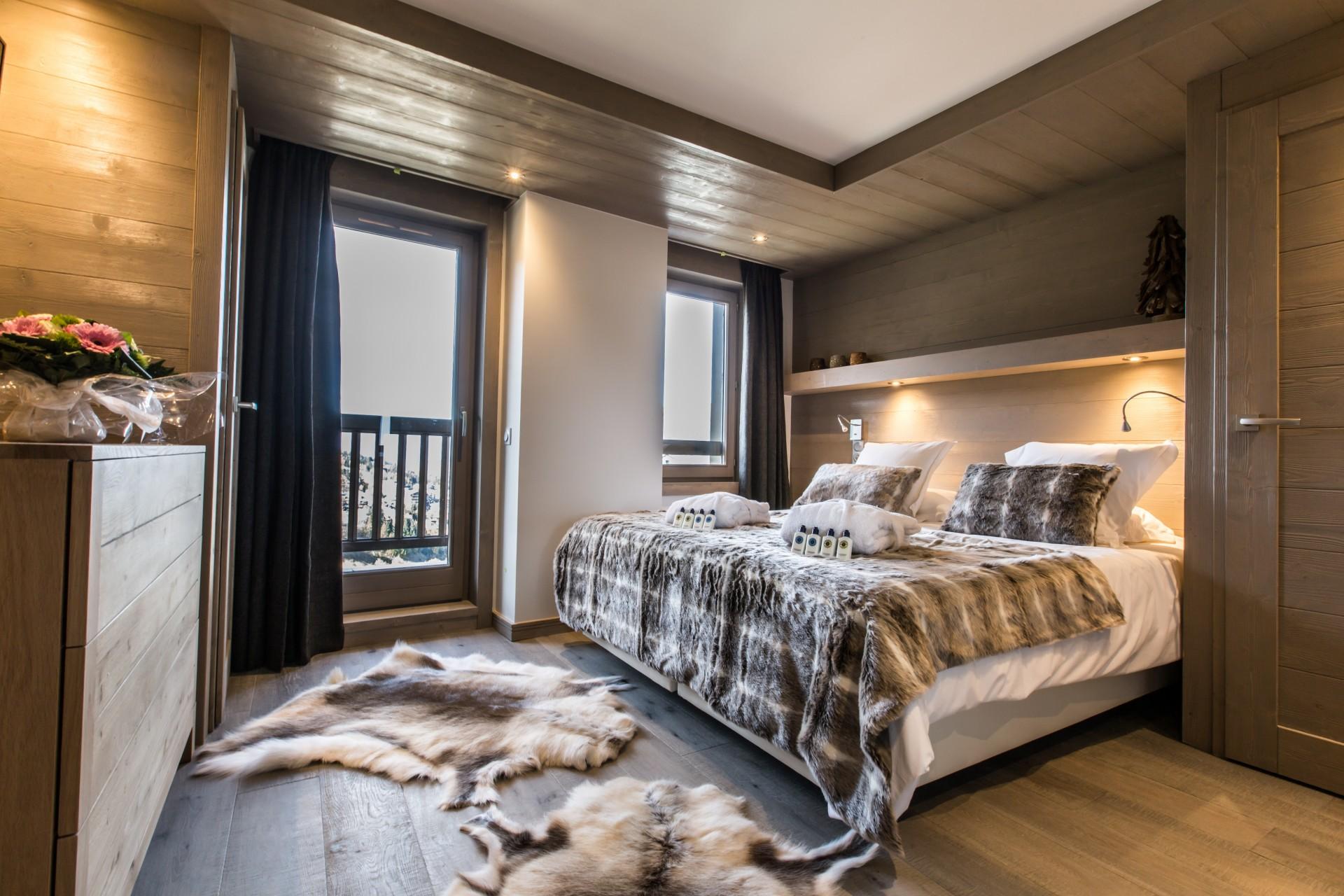 Courchevel 1650 Location Appartement Luxe Altara Chambre