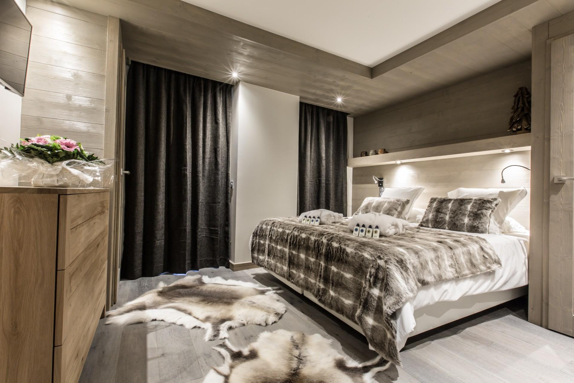 Courchevel 1650 Location Appartement Luxe Altara Chambre 2