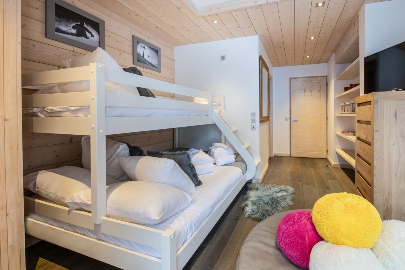 Courchevel 1650 Location Appartement Luxe Aluminite Chambre 2