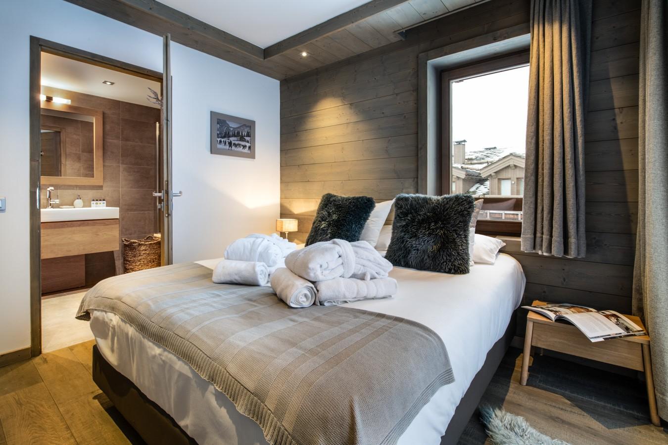 Courchevel 1650 Location Appartement Luxe Aluminite Chambre