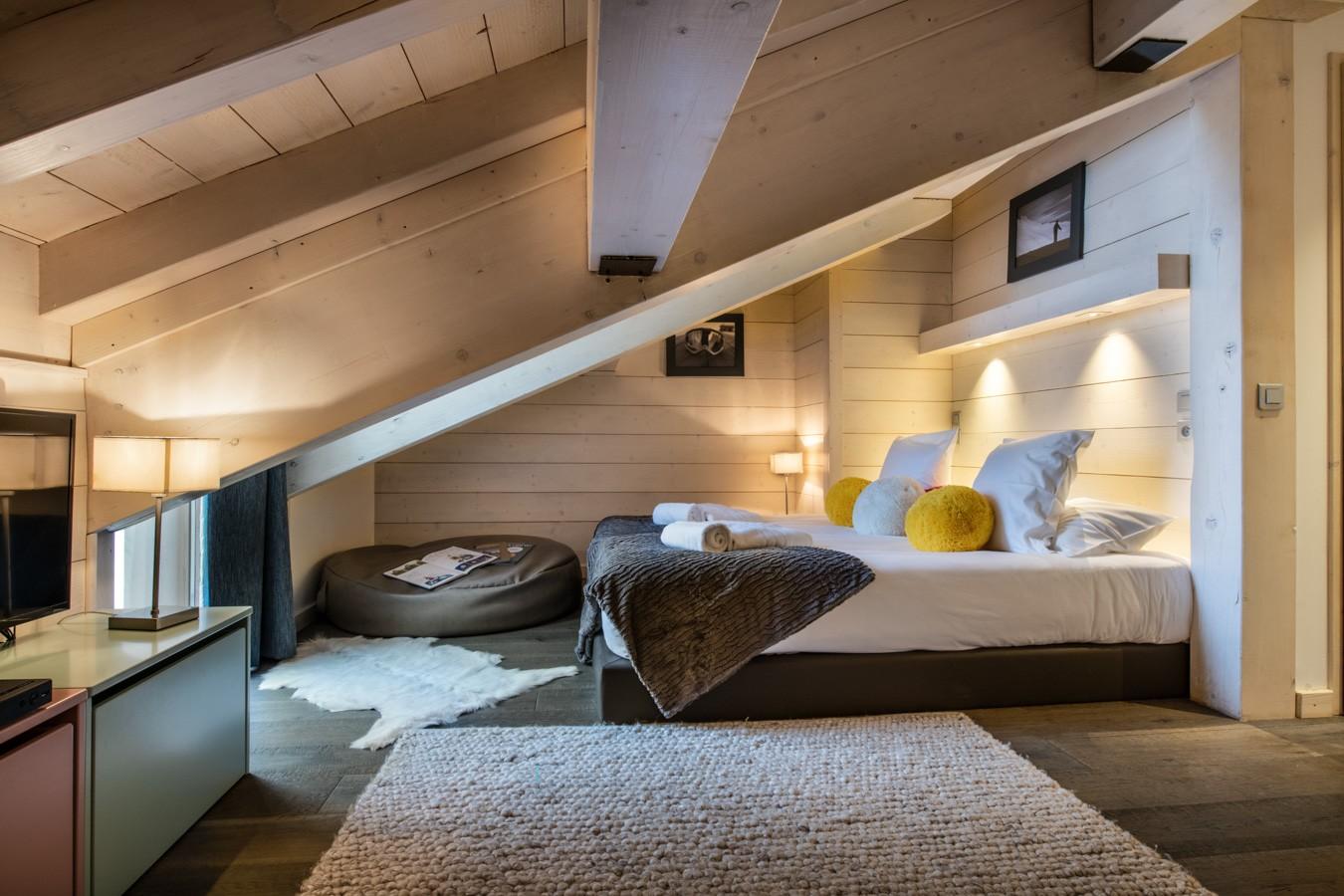 Courchevel 1650 Location Appartement Luxe Aluminite Chambre 3
