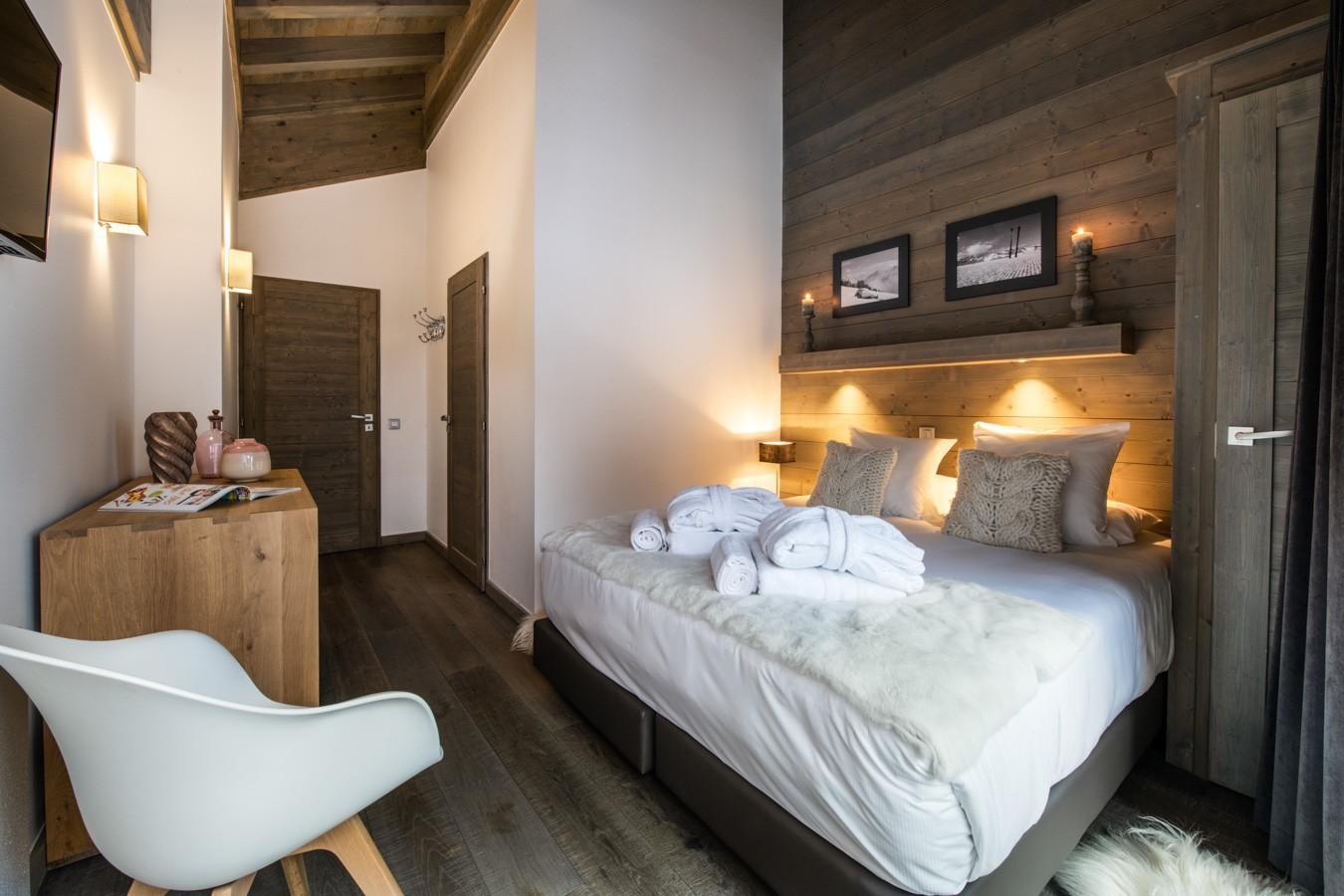 Courchevel 1650 Location Appartement Luxe Aluminite Chambre 4