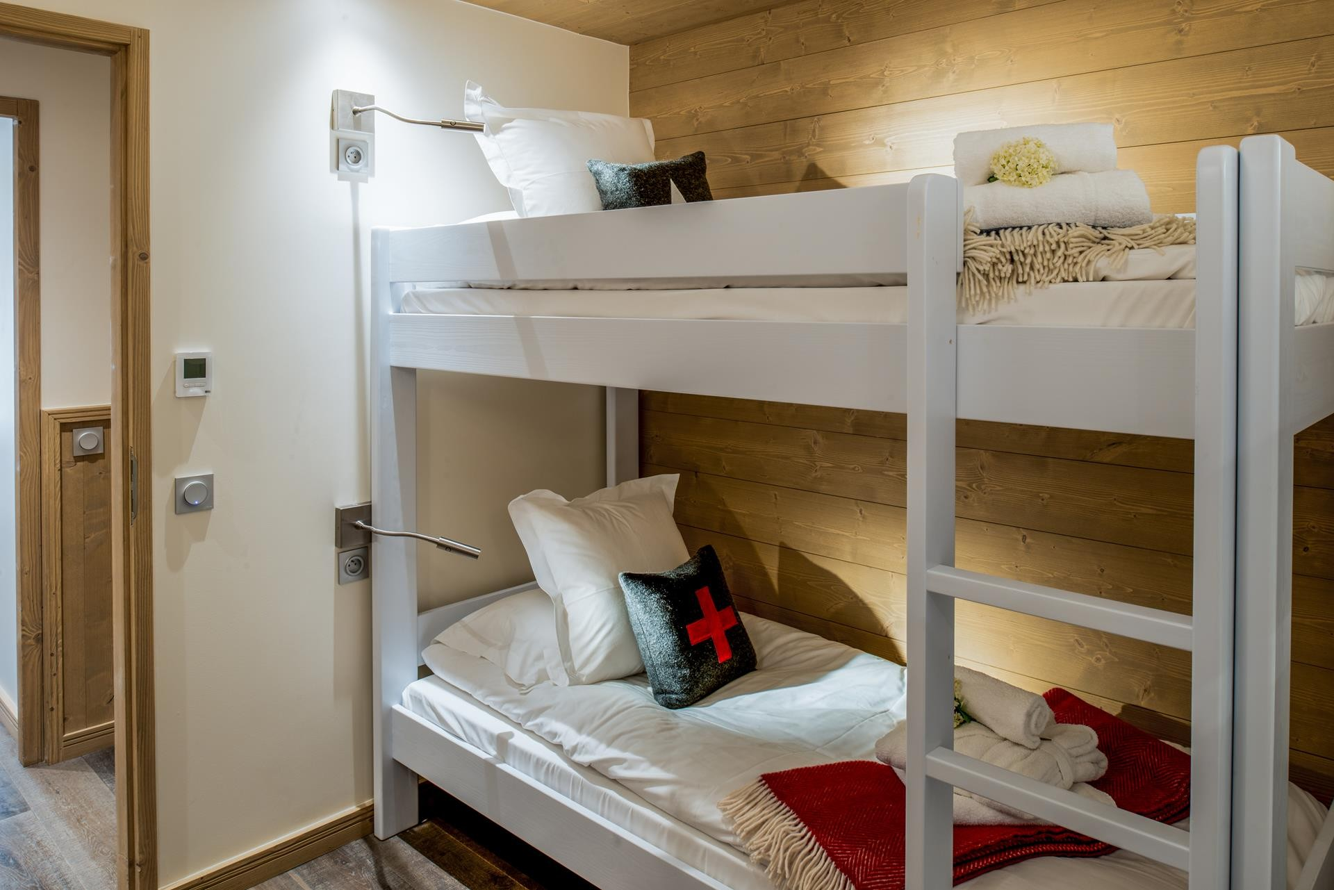 Courchevel 1650 Location Appartement Luxe Amarile Chambre