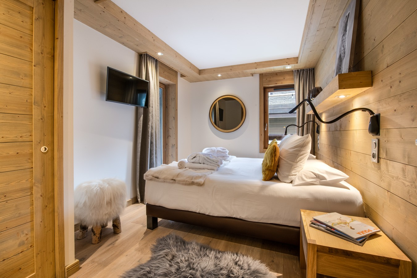 Courchevel 1650 Location Appartement Luxe Amethyste Chambre 3