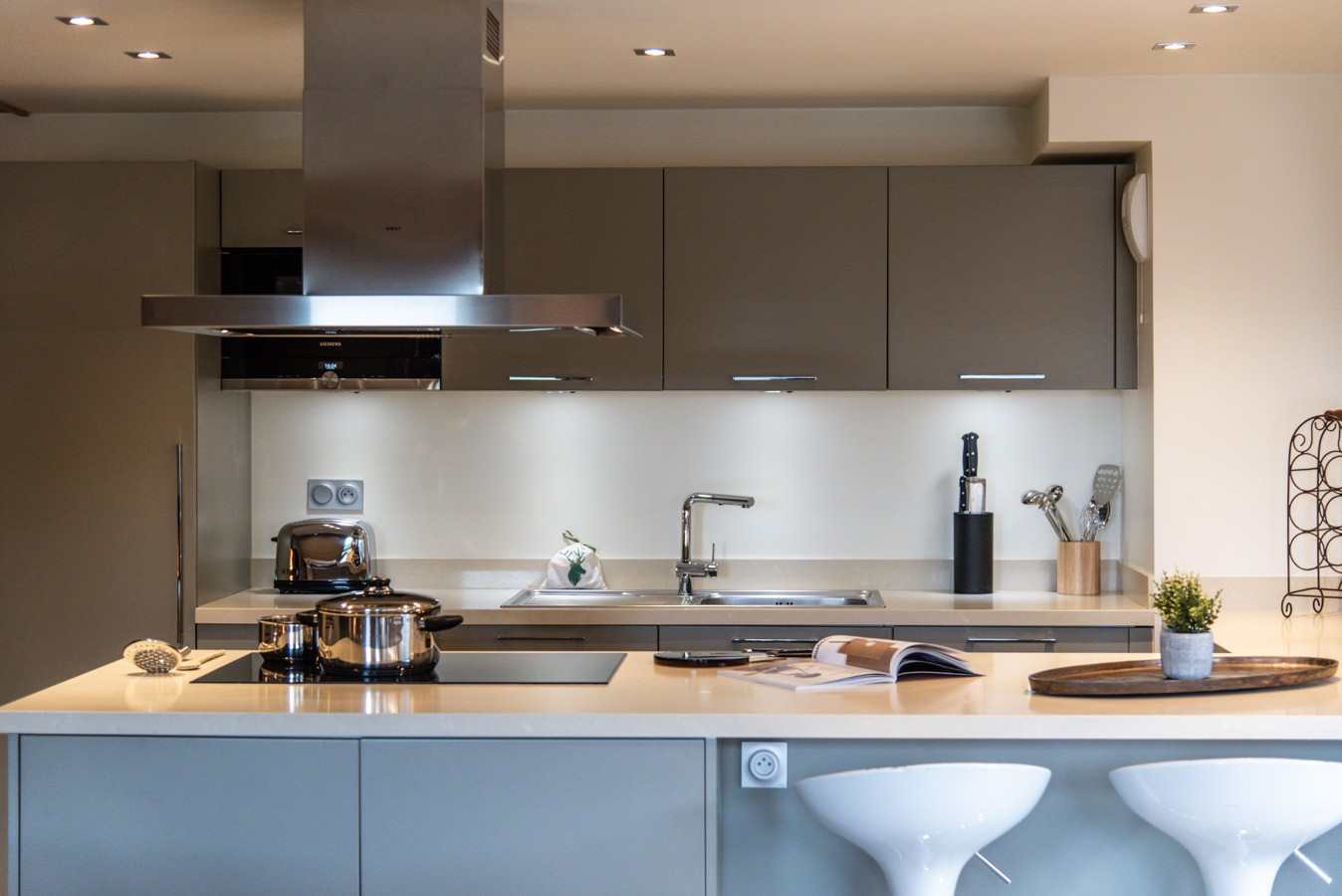Courchevel 1650 Location Appartement Luxe Amethyste Cuisine 2