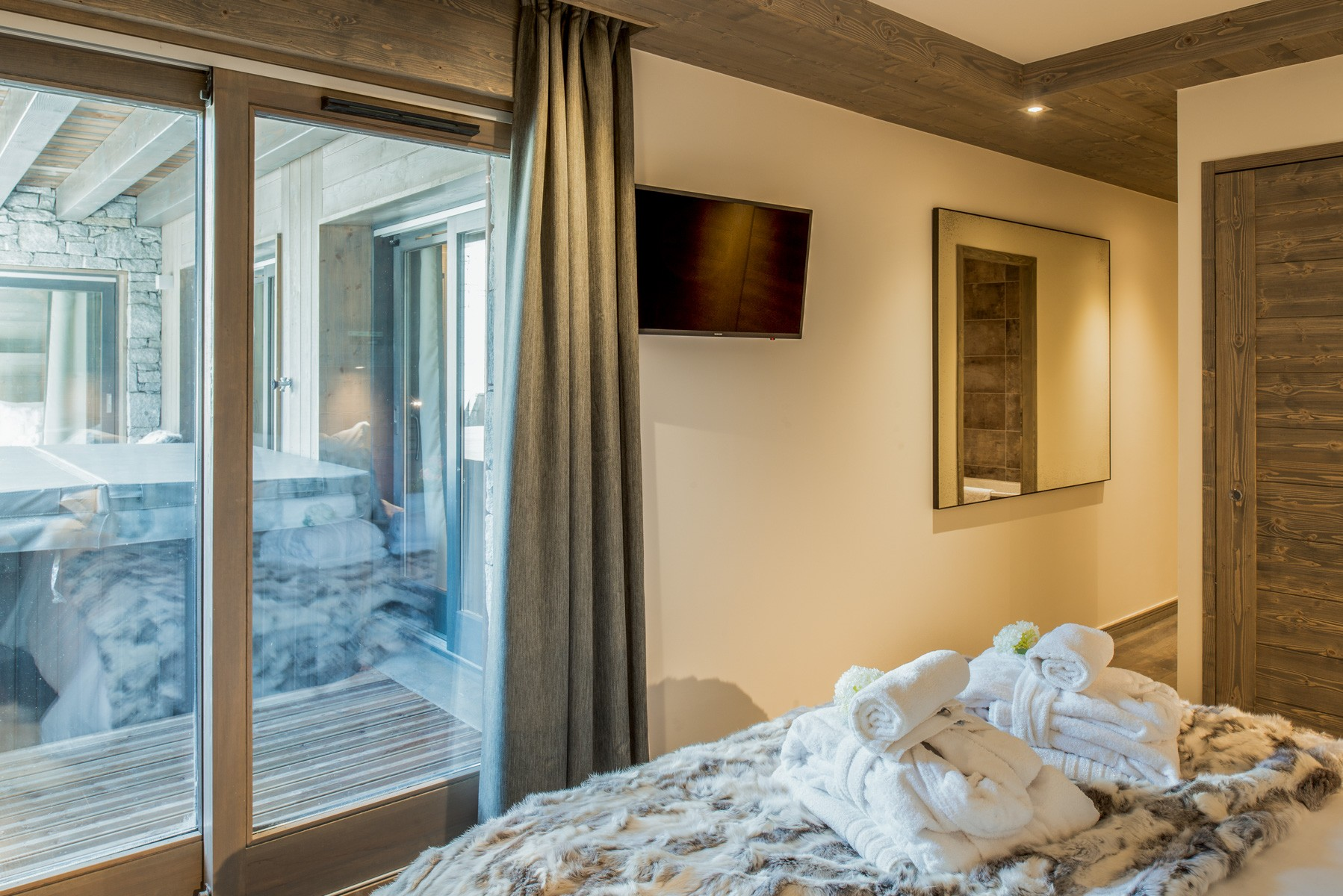 Courchevel 1650 Location Appartement Luxe Amurile Chambre 2