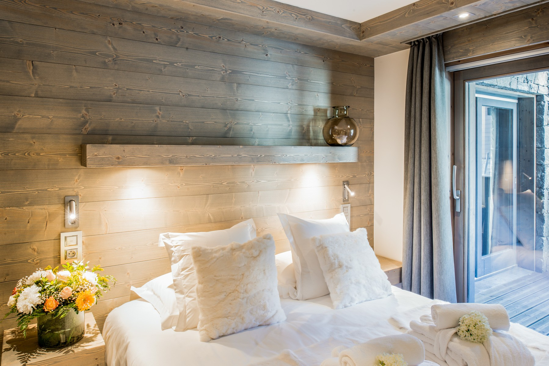 Courchevel 1650 Location Appartement Luxe Amurile Chambre