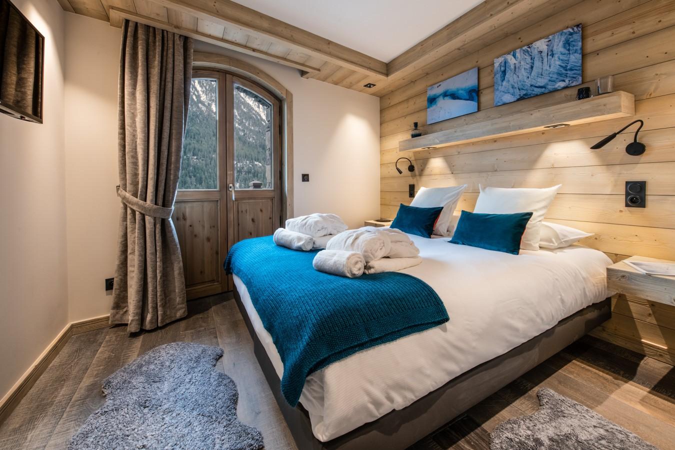 Courchevel 1650 Luxury Rental Appartment Auralite Bedroom