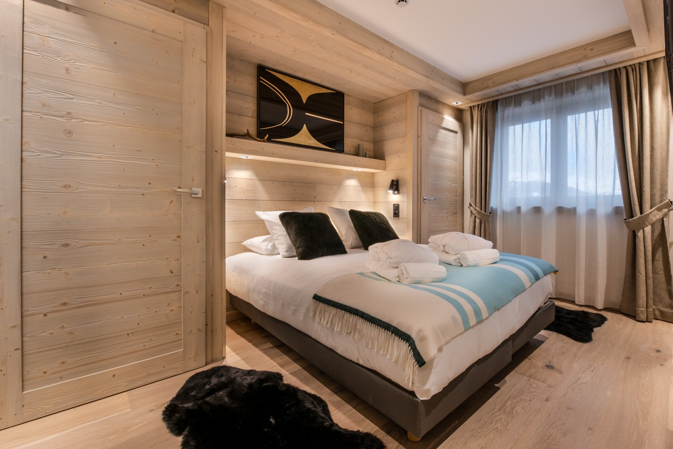 Courchevel 1650 Luxury Rental Appartment Aurelite Bedroom 2