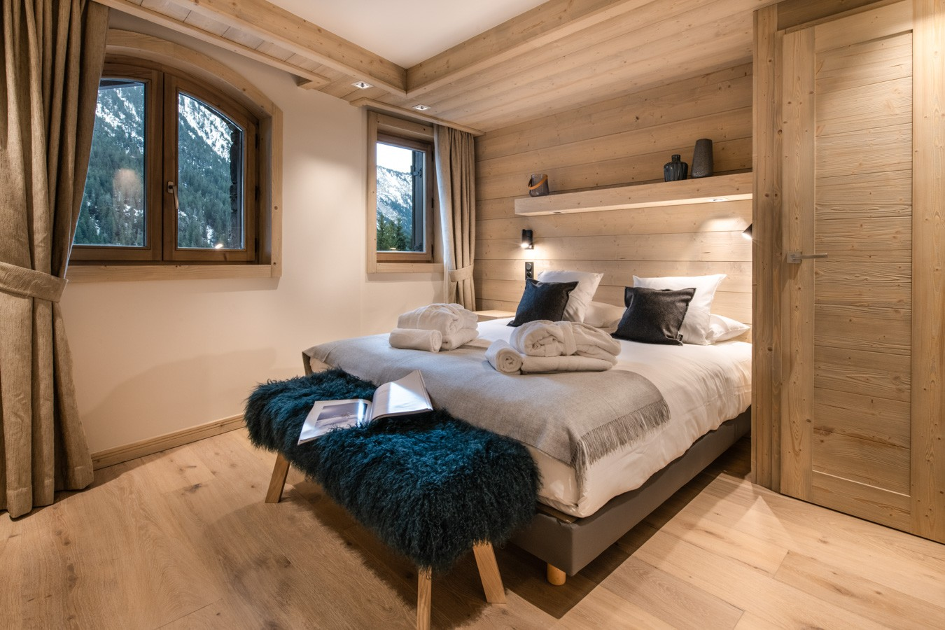 Courchevel 1650 Luxury Rental Appartment Aurelite Bedroom 3