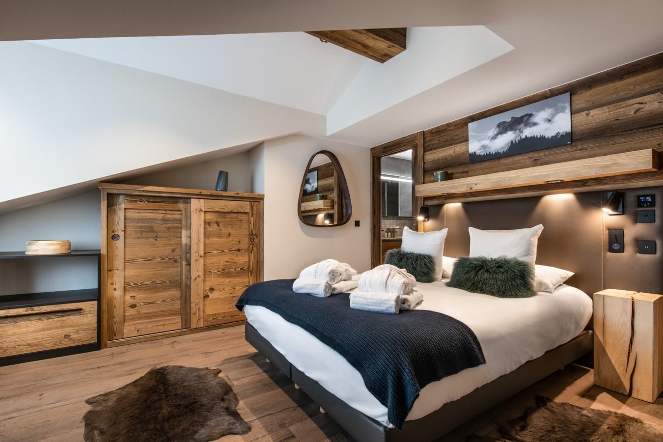 Courchevel 1650 Luxury Rental Appartment Aurylite Bedroom