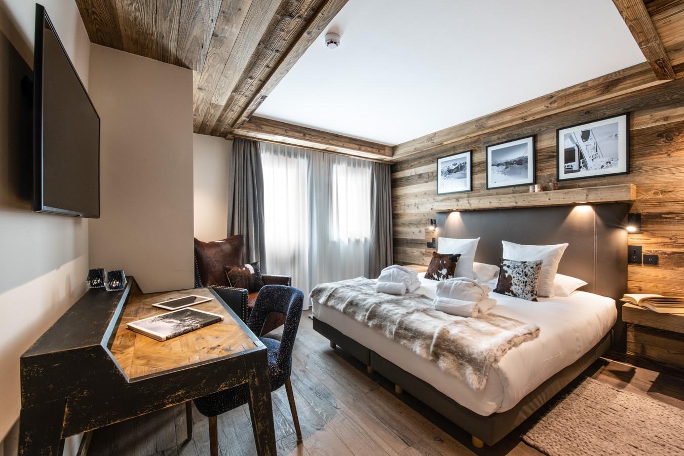 Courchevel 1650 Luxury Rental Appartment Aurylite Bedroom 3
