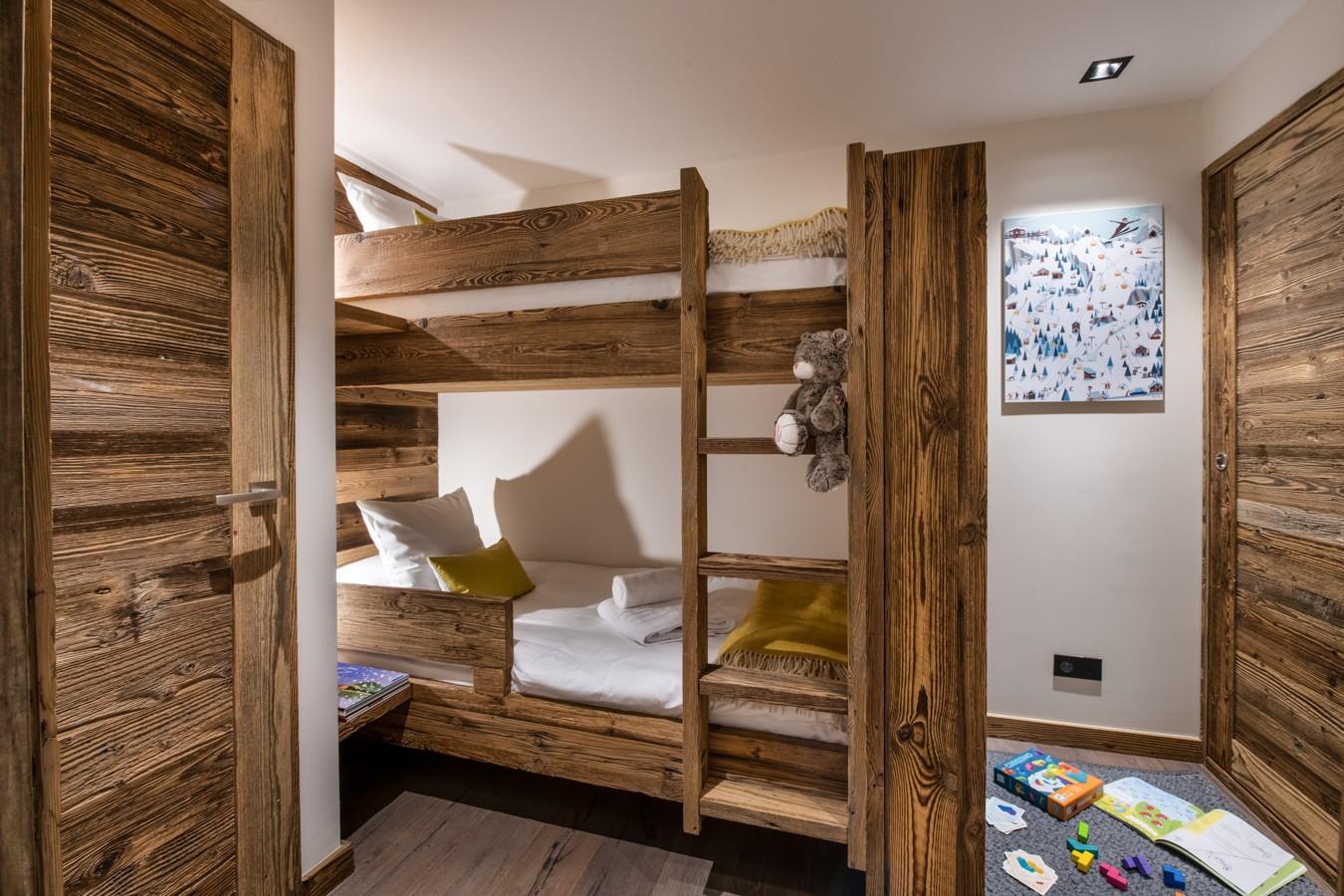 Courchevel 1650 Luxury Rental Appartment Aurylite Bedroom 4