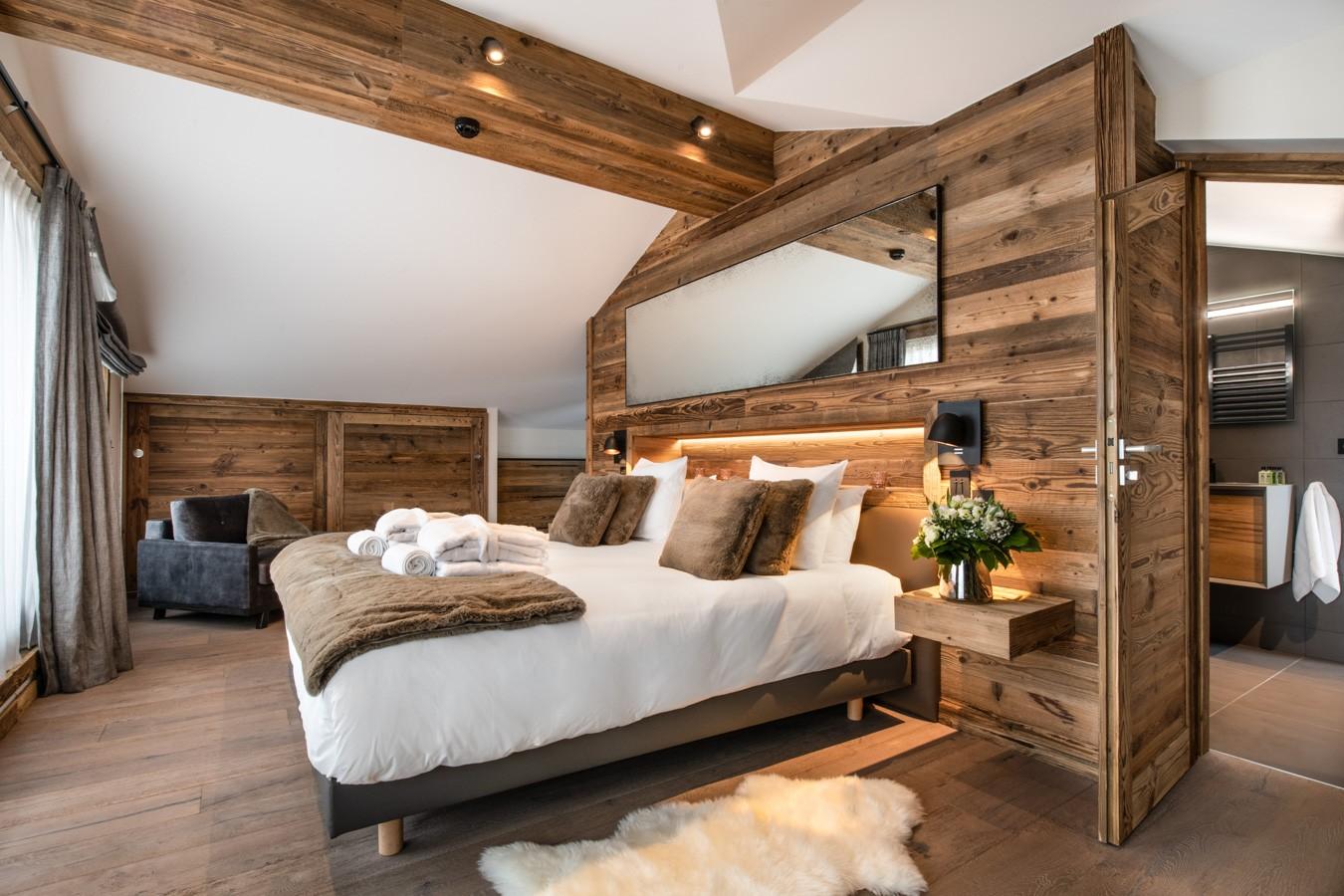 Courchevel 1650 Luxury Rental Appartment Aurylite Bedroom 5
