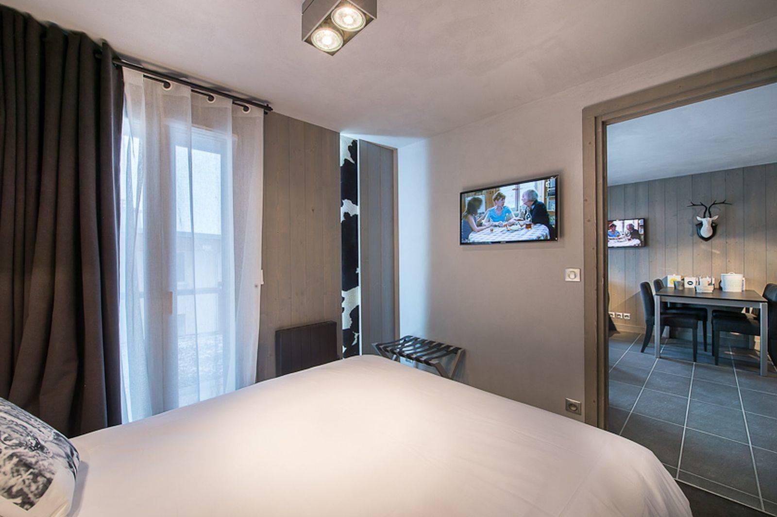 Courchevel 1650 Location Appartement Luxe Doredo Chambre 2