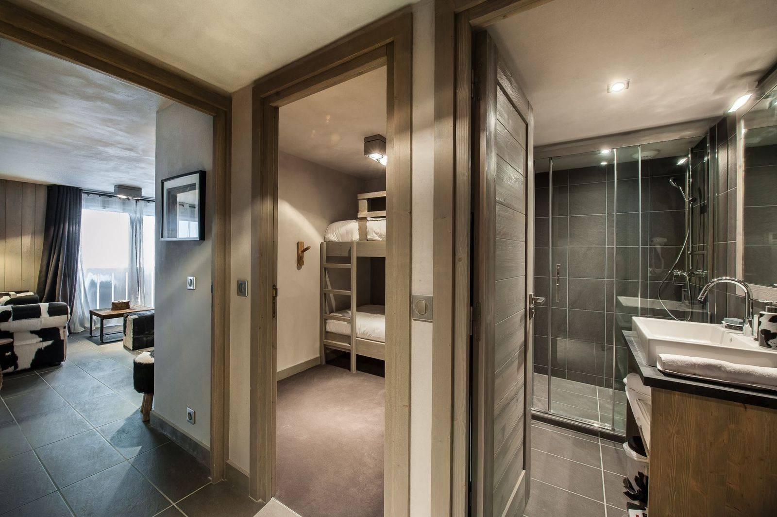 Courchevel 1650 Luxury Rental Appartment Dracali Bathroom