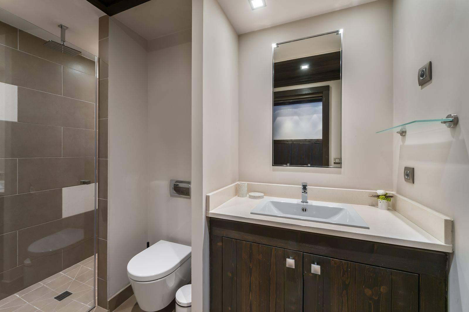 Courchevel 1650 Luxury Rental Appartment Neroflier Bathroom